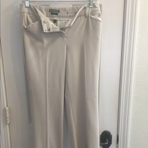 Express Editor style dress pants - barely boot